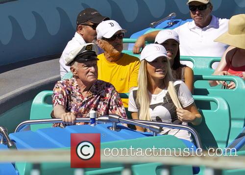 Hugh Hefner and Crystal Hefner 2