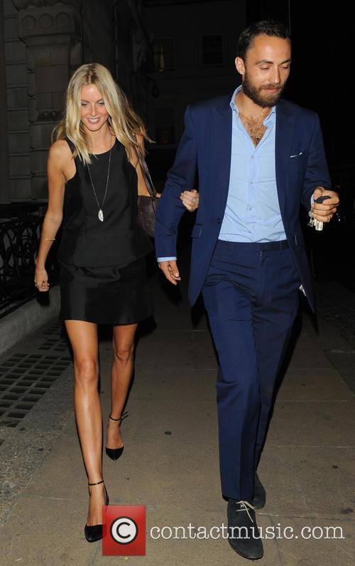 Donna Air and James Middleton 3