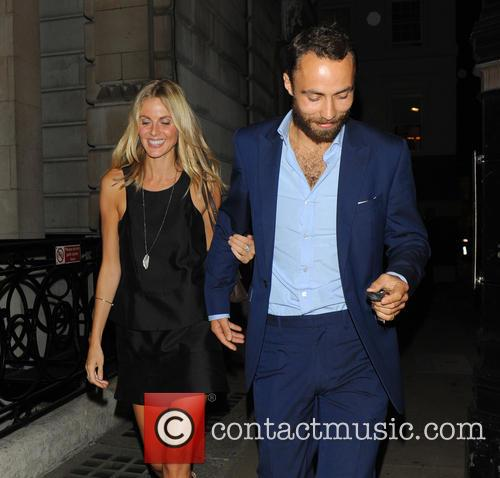 Donna Air and James Middleton 7