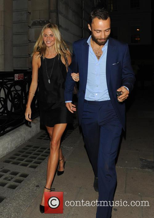 Donna Air and James Middleton 8