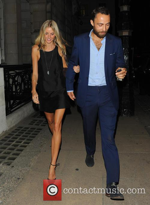 Donna Air and James Middleton 9