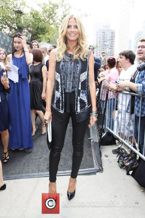 heidi klum new york fashion week  3851097