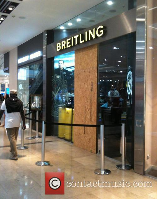 Westfield Stratford Breitling store robbed