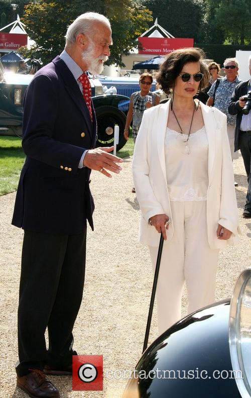 Prince Michael Of Kent and Bianca Jagger 1