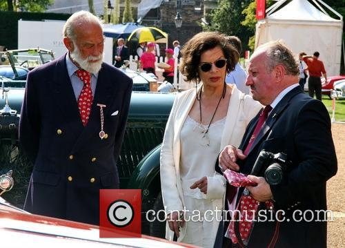 Prince Michael Of Kent and Bianca Jagger 2