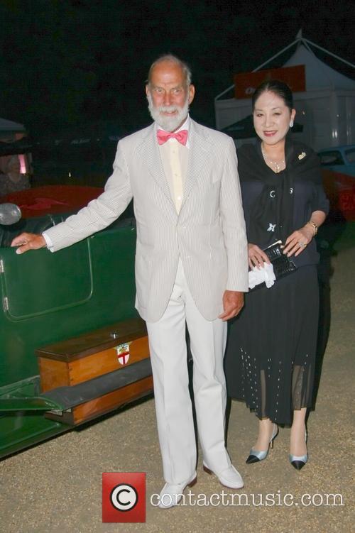 Kent, Maiko Jeong Shun Lee and Viscountess Rothermere 2