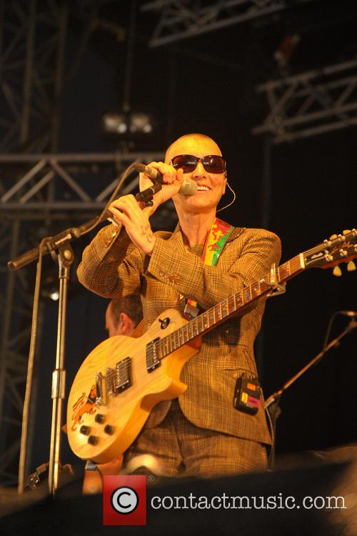 Sinead O'connor, Bestival, Robin Hill Country Park, Isle and Wight 4