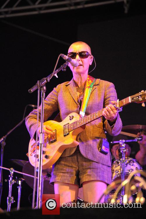 Sinead O'connor, Bestival, Robin Hill Country Park, Isle and Wight 7