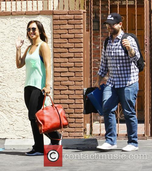 Jack Osbourne at the DWTS rehearsal studio