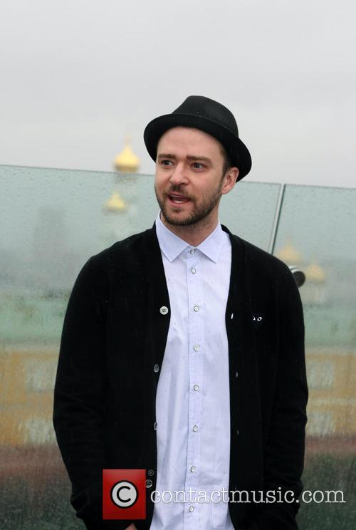Justin Timberlake, Runner Runner Photocall