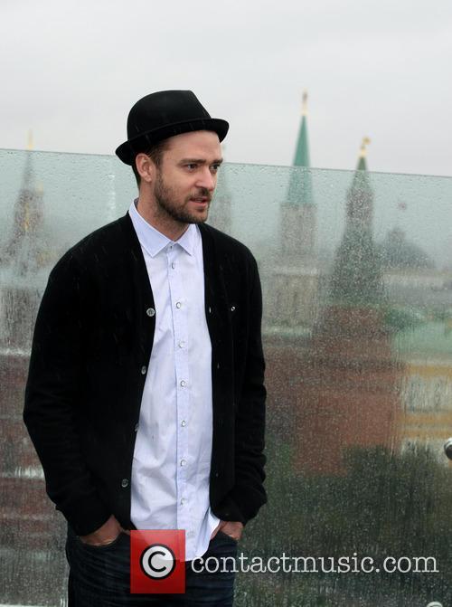 Justin Timberlake attends a photocall