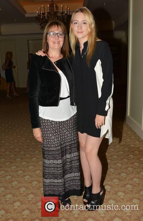 Saoirse Ronan and Laura Whitmore 2