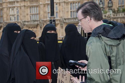 Burka Ban Protest 2