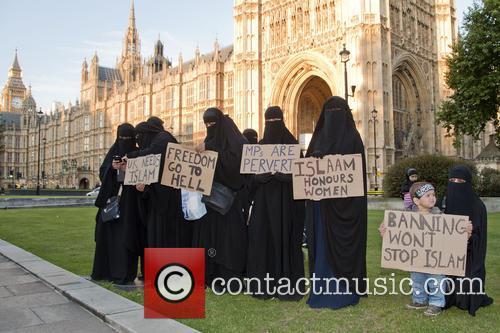 Burka Ban Protest 5