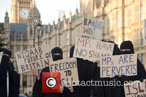 Burka Ban Protest 6