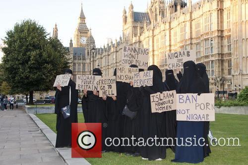 Burka Ban Protest 7