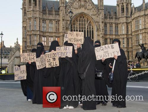 Burka Ban Protest 8