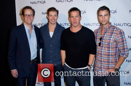Matt Letscher, Josh Henderson, Chris Cox and Colin Egglesfield 8