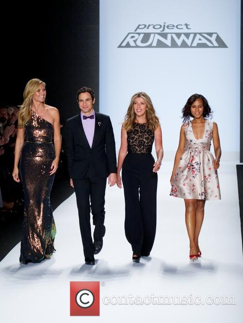 Heidi Klum, Zac Posen, Nina Garcia and Kerry Washington 7