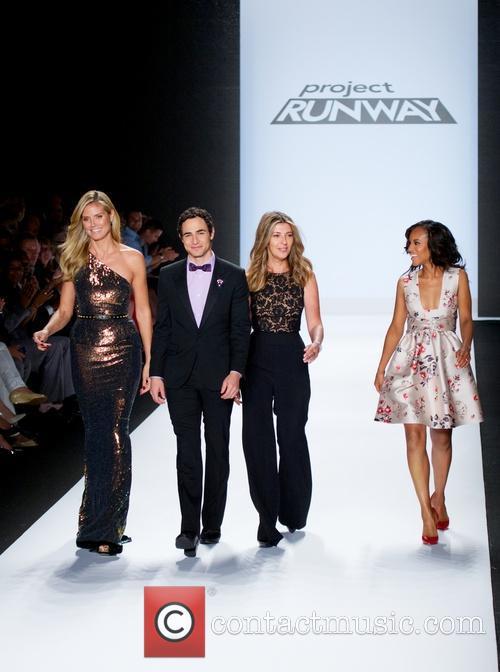 Heidi Klum, Zac Posen, Nina Garcia and Kerry Washington 1