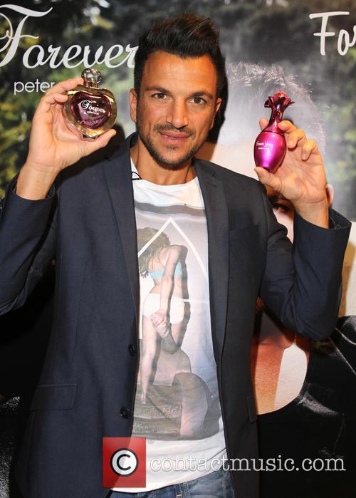 Peter Andre launches his new fragrances