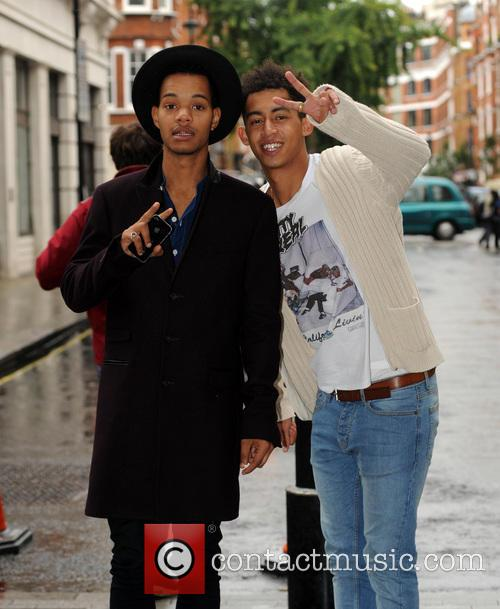rizzle kicks celebrities at the bbc radio 3852692