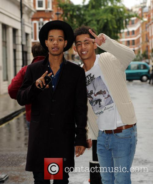rizzle kicks celebrities at the bbc radio 3852695