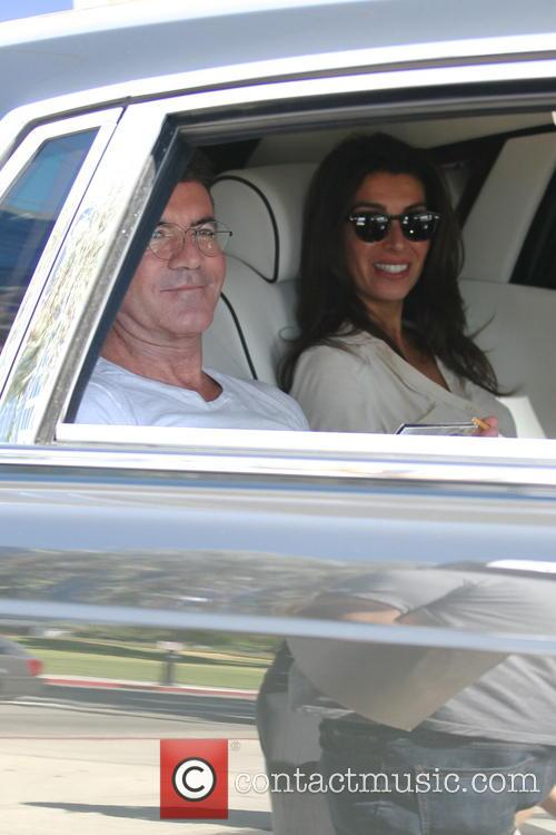 Simon Cowell and Mezhgan Hussainy 3