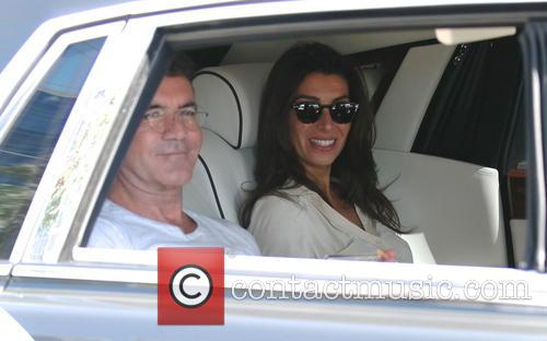 Simon Cowell and Mezhgan Hussainy 6