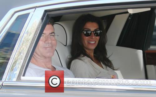 Simon Cowell and Mezhgan Hussainy 8