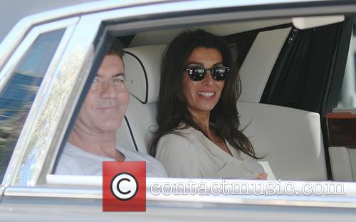 Simon Cowell and Mezhgan Hussainy 11