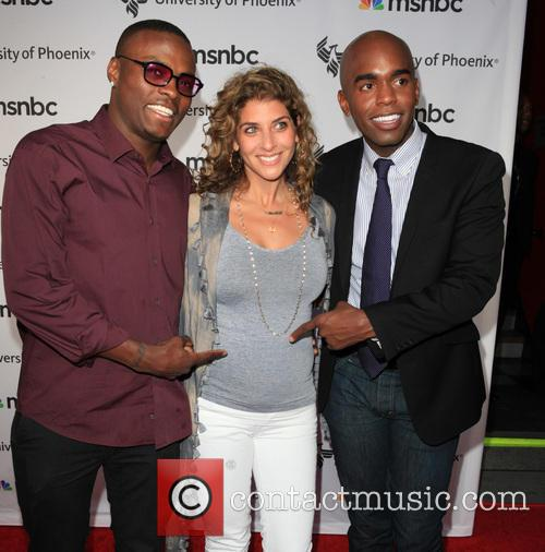 Peter Quillin, Kid Chocolate, Allison Berger and Chris Witherspoon 2