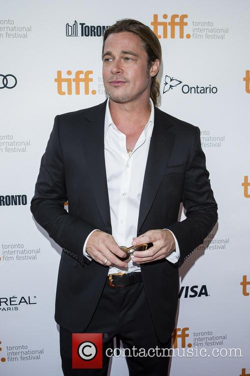Brad Pitt 12 Years A Slave Premiere
