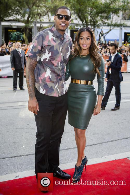 La La Anthony, Carmelo, Canada On September 6 and 2013 (photo:vito Amati/iphoto) 4