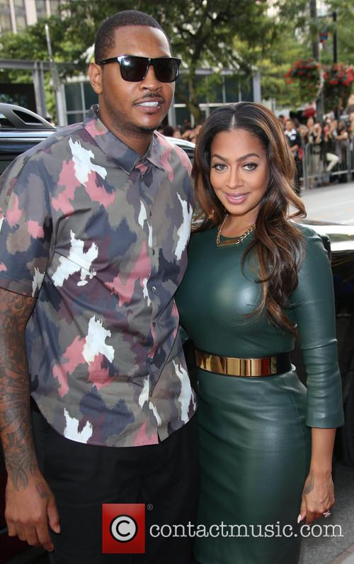 carmelo anthony la la anthony 38th toronto international 3853843