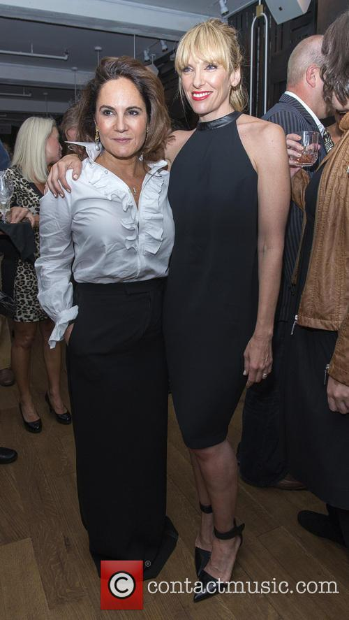 Emily Wachtel and Toni Collette