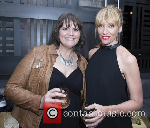 Megan Griffiths and Toni Collette 2
