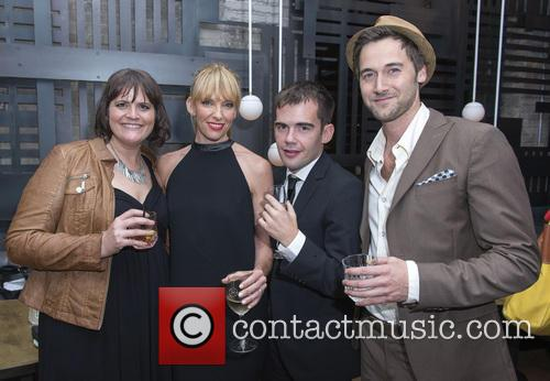 Megan Griffiths, Toni Collette, Peer Pedersen and Ryan Eggold 7