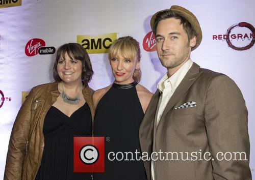 Toni Collette, Megan Griffiths and Ryan Eggold 2