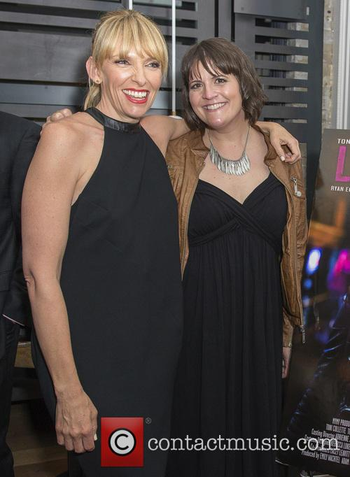Toni Collette and Megan Griffiths 1