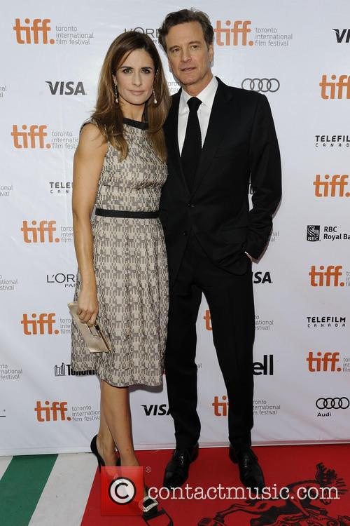 Livia Giuggioli and Colin Firth 2