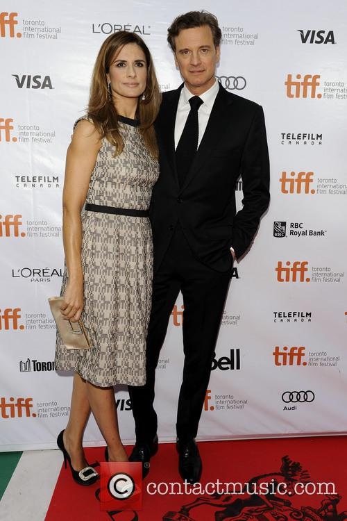 Livia Giuggioli and Colin Firth 3
