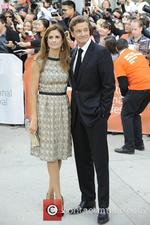 Livia Giuggioli and Colin Firth 1