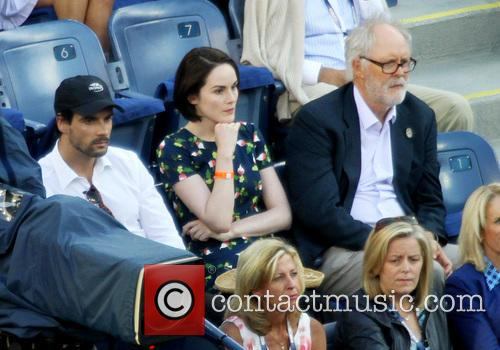 Michelle Dockery and John Lithgow 2