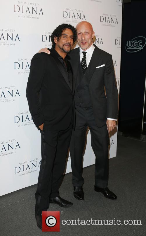 Naveen Andrews and Oliver Hirschbiegel 2