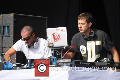 Mark Ronson and Zane Lowe 1
