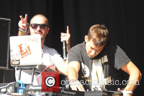 Mark Ronson and Zane Lowe 6