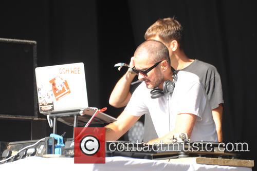 Mark Ronson and Zane Lowe 8