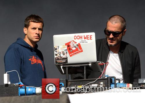 Zane Lowe and Mark Ronson 3