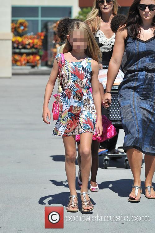 Heidi Klum takes her kids to an arts...